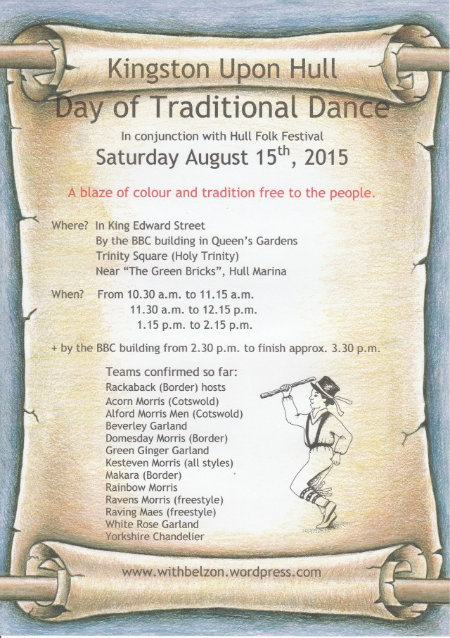 Poster for the 2015 Hull Day of Dance.